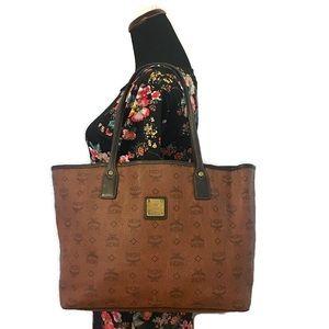 MCM Dark Brown Tote Bag